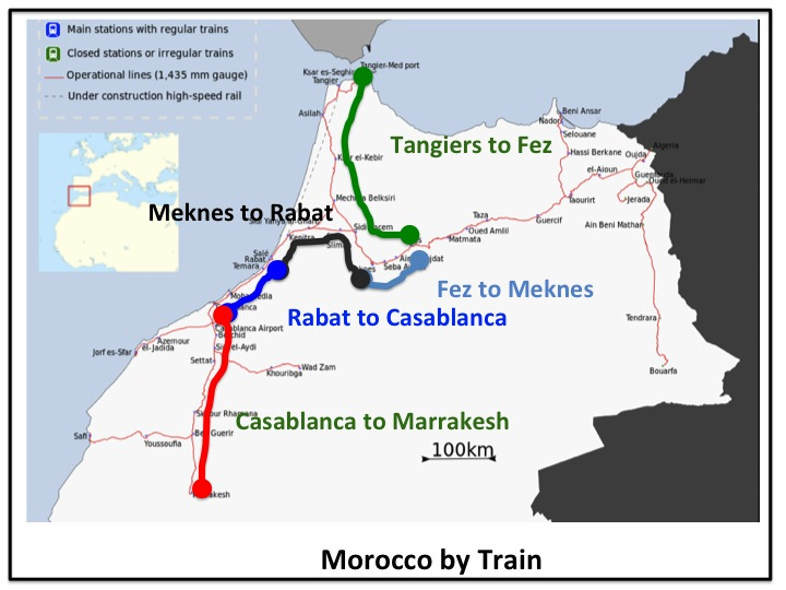 Morocco By Train Memory Point Your Point For Great