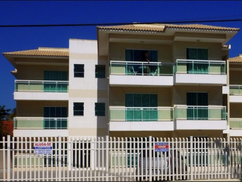 This is Ricardo's condo.  It sits just across the street with a great view of Lagoa de Arauama.